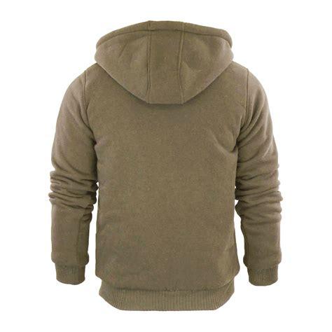 Fleecy Sweater 65ribu mens hoodie brave soul zone sherpa fleece lined zip up hooded sweater ebay