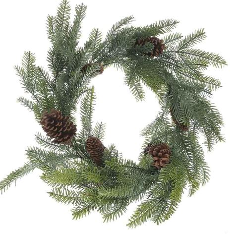 artificial pine wreath christmas and winter sale sales