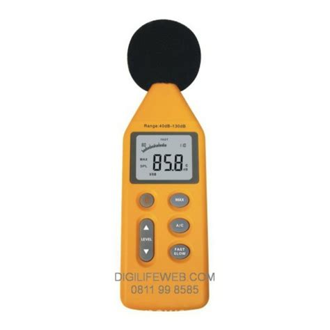 sound level meter dsm 814 ukur kebisingan suara