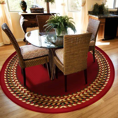 100 0 olefin rug material orian braid border olefin area rug available in