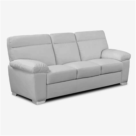 light couches alto italian inspired high back leather light grey sofa