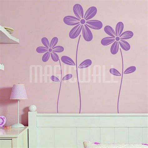 flower wall stickers wall decals purism flowers wall stickers canada