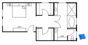 bathroom and walk in closet floor plans master bedroom floor plans