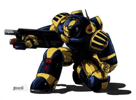 police power armor by kevarin on DeviantArt
