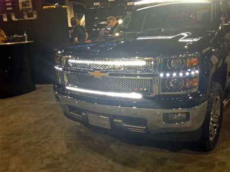 Led Light Bar Silverado Putco Lightbars Silverado Grill Global High Performance