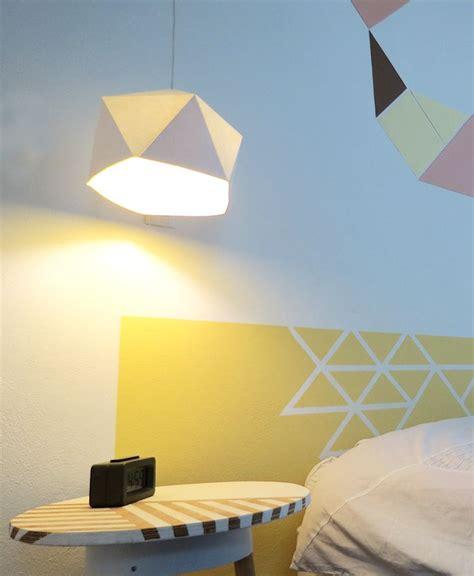 Attrayant Idee Deco Chambre Romantique #6: t%C3%AAte-lit-faire-soi-m%C3%AAme-pas-ch%C3%A8re-ruban-adh%C3%A9sif-peinture.jpg