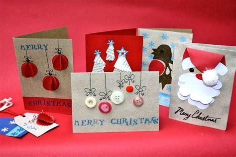 Bricolage Di Natale Per Bambini by Biglietti Di Natale Fai Da Te Bricolage Come