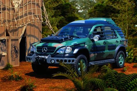 jurassic park car mercedes the mercedes that fights the dinosaurs mercedesblog
