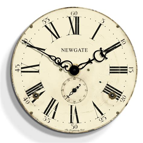 newgate clocks knightsbridge clock cream 50cm at amara
