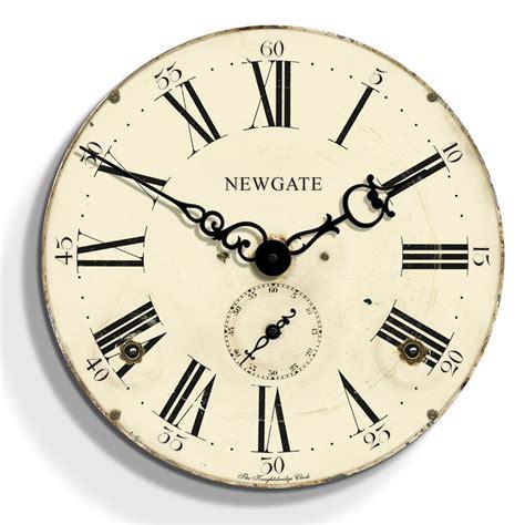 Dinner Table Lighting by Newgate Clocks Knightsbridge Clock Cream 50cm At Amara