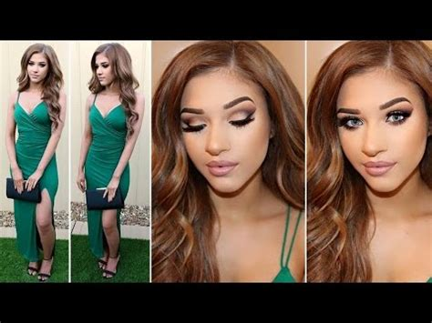 hair and makeup for wedding guest wedding guest makeup hair outfit youtube