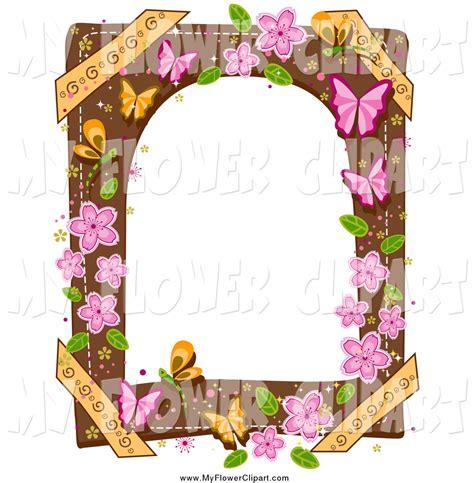 design frame studio frame design flower clipart 50