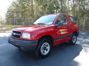 2000 chevrolet tracker 2dr convertible 2wd low for