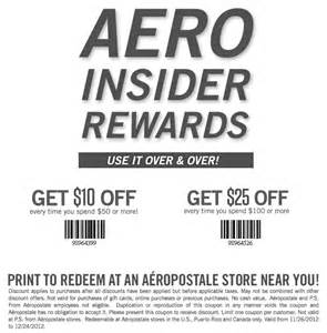 Coupon for 10 to 25 off great aeropostale printable coupon