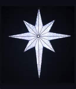 white bethlehem star 36 inch