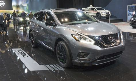 2017 nissan murano platinum midnight edition 2017 chicago auto show nissan s midnight editions 187 autonxt