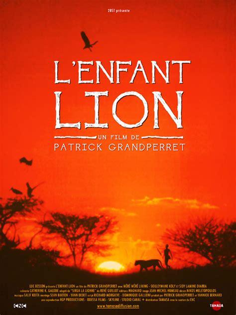 film la lion affiche du film l enfant lion affiche 2 sur 3 allocin 233