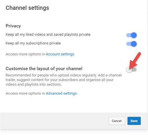 youtube layout problem youtube makes channel videos private and shows this