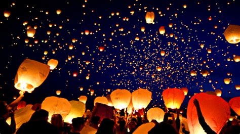 lanterne volanti cinesi le lanterne volanti il quorum