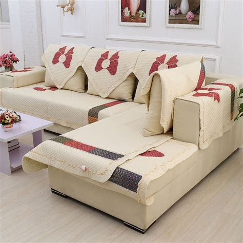 how to make slipcover for sectional sofa slipcover for sectional sofas decorative and protective