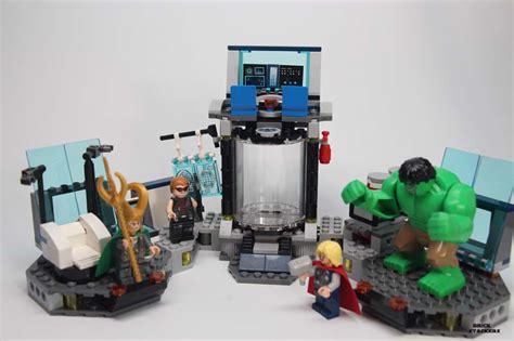 Murah Lego Superheroes 6868 S Helicarrier Breakout lego superheroes 6868 s helicarrier breakout set review brick stackers