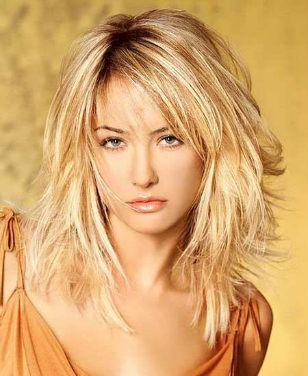 Layered Medium Length Hairstyles 2017 With Bangs by 21 Medium Length Layered Haircuts With Bangs Hairstyles