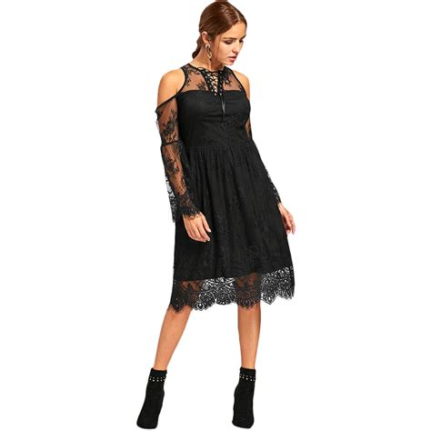 Dress Model Casual Black Style Number Impor charmma 2018 new dress black a line casual