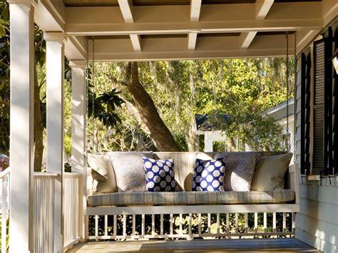 small porch swing photos hgtv