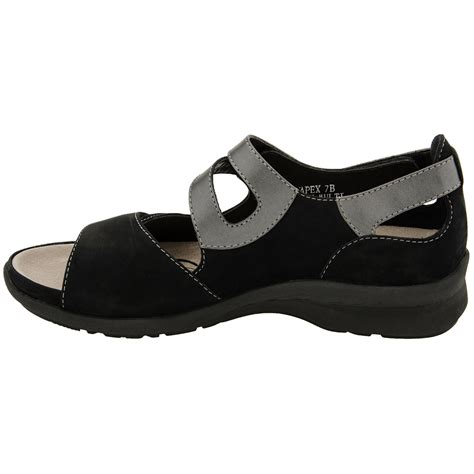 earth shoes apex women s open toe heel sandal earth