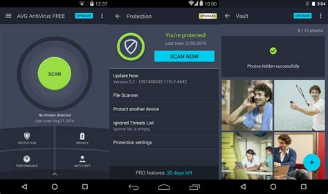 avg antivirus free for android 8 best free antivirus for android 2018 stop credit card theft with safe banking