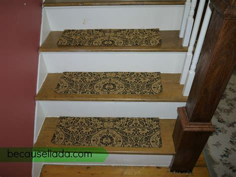 ikea rug mat stair tread diy on our little stairs this would be a piece of cake for the make your own carpet stair treads because liada