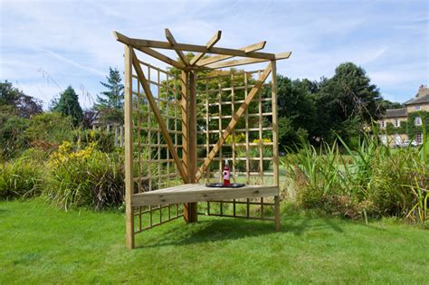 arbour swing seat anchor fast exmouth 2 seater corner arbour simply wood