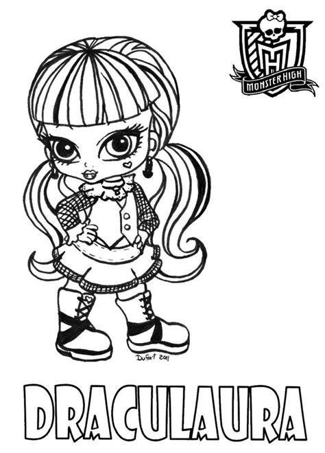 Monster High Coloring Pages Baby Draculaura | baby draculaura by jadedragonne on deviantart