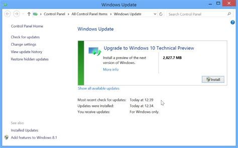 how to upgrade to windows installing windows 10 through windows update on windows 7