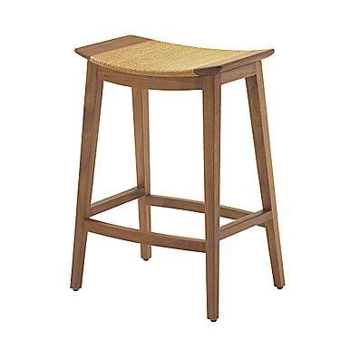 Mcguire Furniture Bar Stools by Mcguire Furniture Curved Walnut Counter Stool O 401