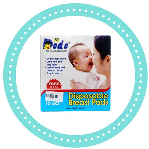 Pigeon Diaposable Breastpad 66 Pcs Harga dodo disposable breast pads 10 2pcs heron baby shop