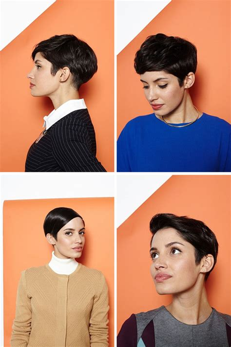 how to style a pixie cut different ways black hair short cut saturday 1 pixie cut 4 ways hair romance