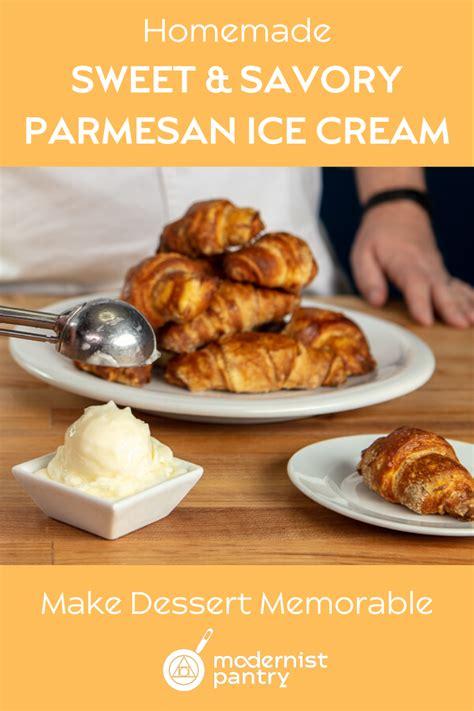 savory parmesan ice cream recipe   savory food