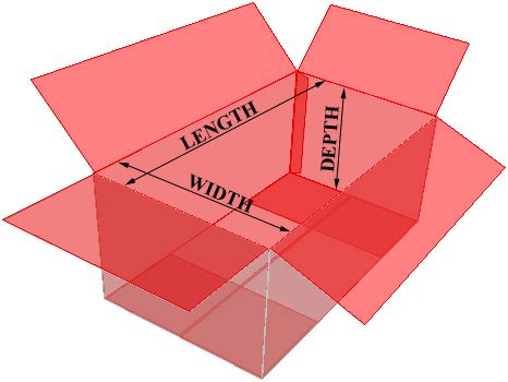 box layout height box dimensions are particulary critical when the product