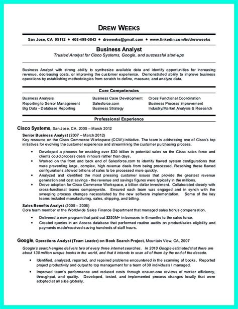Master Data Analyst Resume Sles 2695 Best Images About Resume Sle Template And Format On Business Intelligence