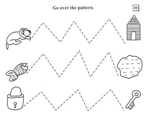 Pattern Writing Part A Kangaroo Books | kangaroo pattern writing part a