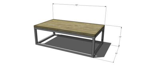 diy furniture plans  build  copenhagen coffee