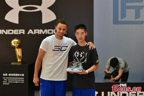 Nba Warrior Stephen Curry Meets Fans In Chongqing 3 4