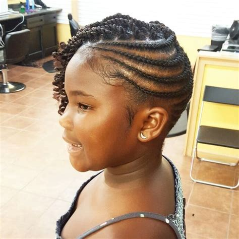 young black american women hair style corn row based natural hair kid hairstyles katahlia blue beauty