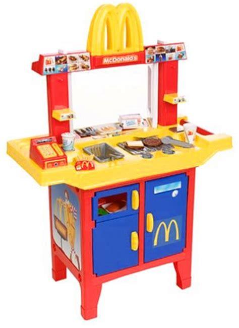 honey bee kitchen set or mcdonald s food stand