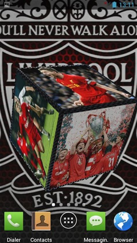themes android liverpool download liverpool fc 3d live wallpaper for android by te