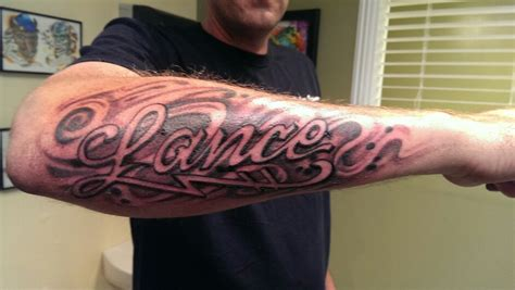 forearm script tattoos for men forearm tattoos for designs ideas and meaning