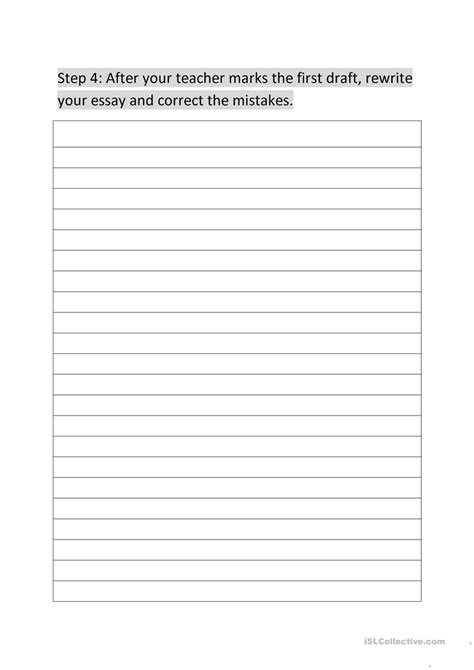 Essay Writing Worksheet by Descriptive Essay Writing Packet Worksheet Free Esl Printable Worksheets Made By Teachers