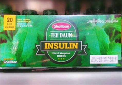 Teh Daun Insulin sembuh diabetes dengan daun insulin
