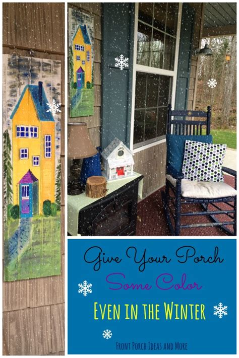 how to keep from blowing in on porch winter decorating ideas for your porch decorating ideas
